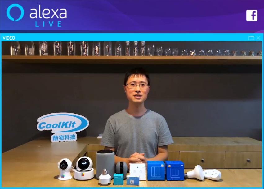 eWeLink on Alexa Live