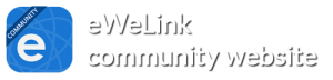 eWeLink community website logo