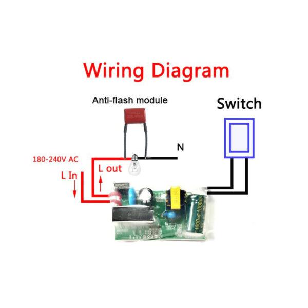 AllbeAI SF-01: wiring diagram
