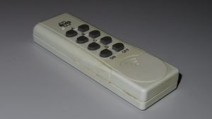 Old RF 433 MHz remote control