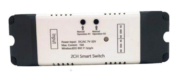 Mumubiz 2CH Smart Switch - 7 - 32V WiFi