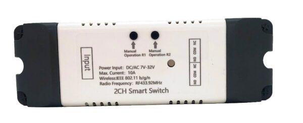 Mumubiz 2CH Smart Switch - 7 - 32V WiFi + RF