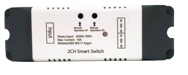 Mumubiz 2CH Smart Switch - 85 - 250V WiFi