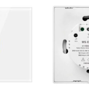 Choifoo WS-EU-MW-xC (Radar Motion Sensor Switch): 1 channel front and back