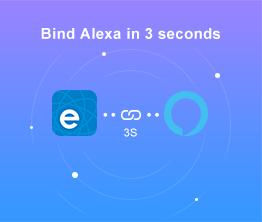 eWeLink Monthly newsletter - November 2020: Bind Alexa in 3 seconds
