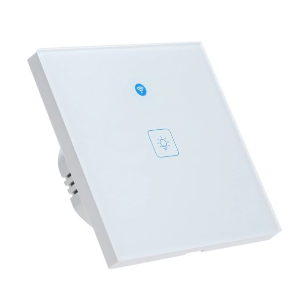 KKMOON Radar WIFI Smart Wall Switch: 1-gang - left, front