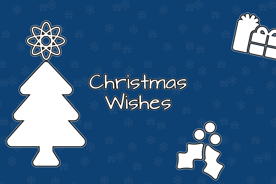 Christmas Wishes 2020 header background