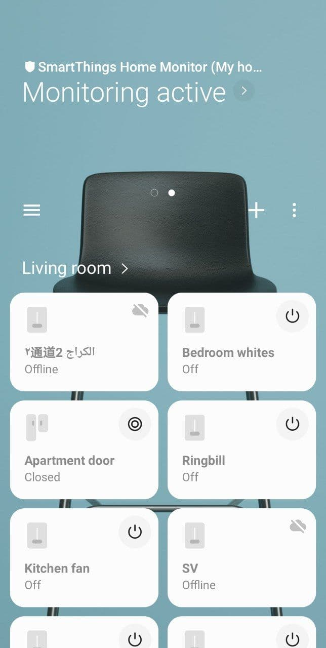 SmartThings linking - Step 8: completed