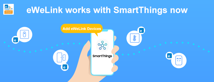 Newsletter eWeLink December 2020: Works with SmartThings