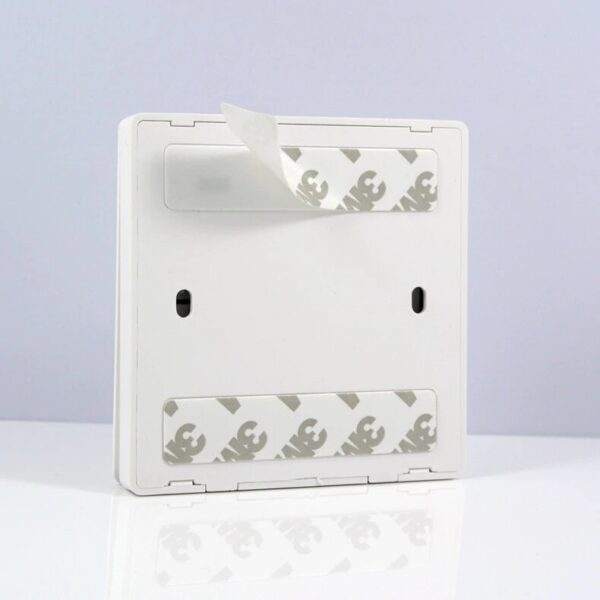 Lonsonho RF 433 MHz light switch: back with 3M adhesive sticky tape