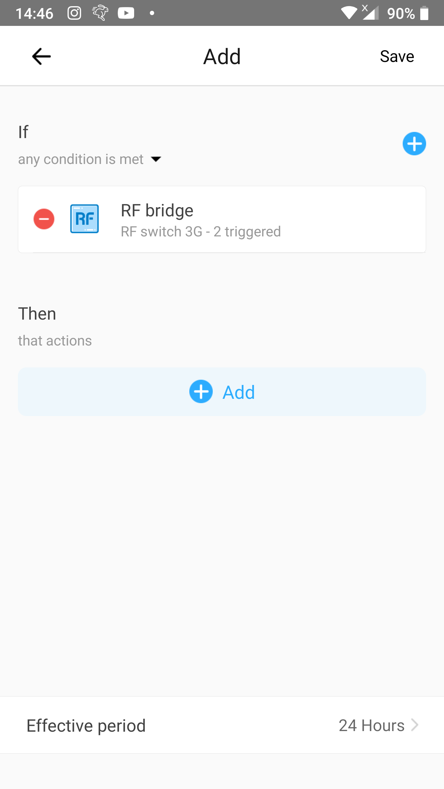 KB: 1-button toggle: Trigger added to new scene