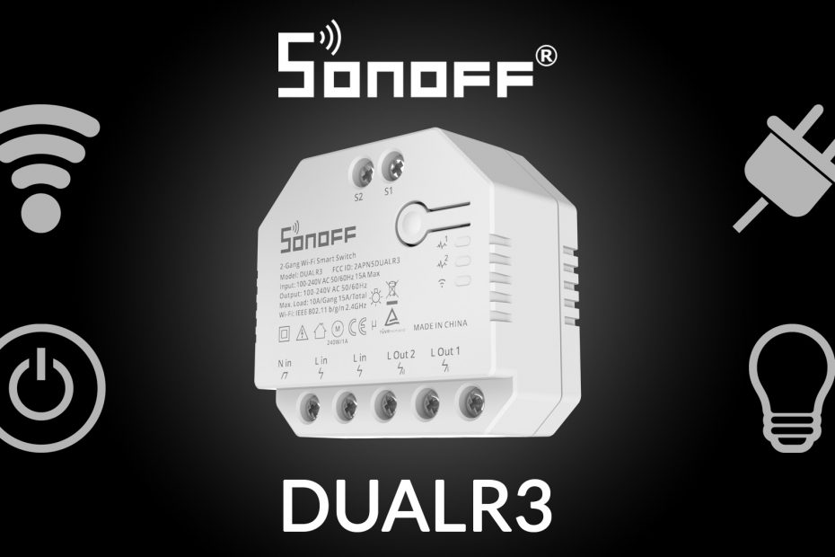 News: Sonoff DUAlR3 released