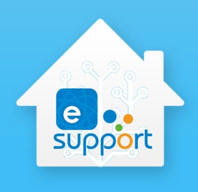eWeLink Home Assistant logo mock-up