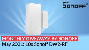 Sonoff giveaway May 2021: DW2-RF