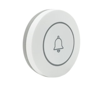 SmartWise RF button: left and front side