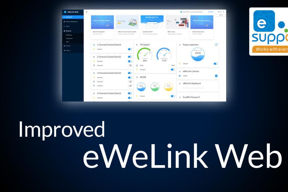 Improved eWeLink Web
